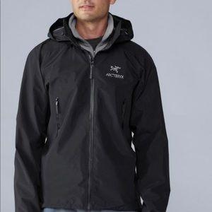 Arc'teryx Theta AR jacket sz large Blk Gore-Tex